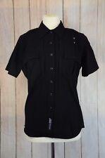 New 5.11 Tactical Series Uniform Short Sleeve Shirt Black Womens M Medium