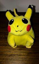 POKEMON PIKACHU PLUSH TOY BRAND NEW WITH TAGS ~ COLLECTIBLE 1999