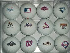 MLB Complete Set Logo's ALL 30 Teams Callaway Mint AAAAA Used Logo Golf Balls
