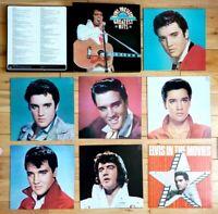 EX/EX Elvis Presley's Greatest Hits 7 LP Box Set  Reader's Digest 1975