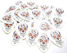 Jim Dunlop BL02R .73 Skull White Guitar Picks Plectrums 36 Pack