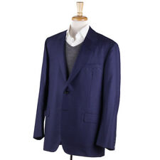 NWT $3995 OXXFORD 'Type-A' Blue and Brown Check Soft Wool Sport Coat 44 R