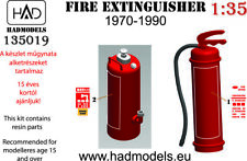 1/35 Fire Extinguisher 70s/80s/Early 90s) (2 types) for Vehicles & Helicopters