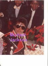 MICHAEL JACKSON WITH SUNGLASSES VINTAGE ORIGINAL RARE UNSEEN PRESS PHOTO