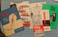 ($5 each) Vintage Electronics Reference Books / Catalogs / Manuals