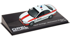 Opel Omega police Suisse - VOITURE MINIATURE COLLECTION - IXO 1/43 CAR AUTO-117