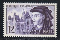 France 1955 MNH Mi 1060 Sc 772 Jacques Coeur , French merchant **