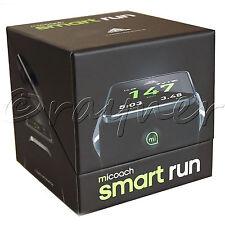 NUOVO Adidas miCoach SMART Run Orologio Nero (esistente miCoach solo per utenti di account)