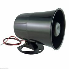 Six 6 Tone Loud Alarm Siren Car Truck ATV Security System Horn