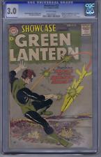 Showcase #22 DC Pub 1959 CGC 3.0 (G/VG ) Origin/1st app. S.A. Green Lantern