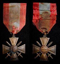 FRANCE: Croix de Guerre des Theatres d'Operations Exterieurs (TOE) French Medal