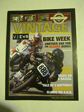April 2008 issue 229 Vintage Views AHRMA Magazine  (BD-42)
