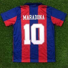 "Barcelona, Men's Retro Soccer Jersey, 1983-84 Maradona #10 ""Replica"" (PRE-ORDER)"