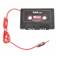 1X(Car Audio Systems Car Stereo Cassette Tape Adapter for Mobile Phone MP3 A W2E