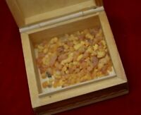 One ounce Frankincense Tears inlaid wood box