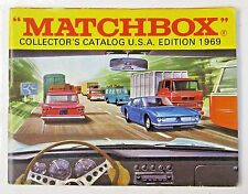 U.S.A. Edition 1969 MATCHBOX Diecast TOYS CATALOG England unused nm to mint