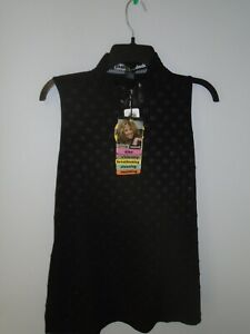 Jamie Sadock Crincle Sleeveless Top Blouse, Sz:Large  # 01231 01