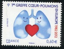 STAMP / TIMBRE  FRANCE  N° 4674  ** 1° GREFFE COEUR POUMONS EN EUROPE