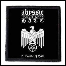 ABYSSIC HATE - A Decade of Hate  --- Patch / Aufnäher ---