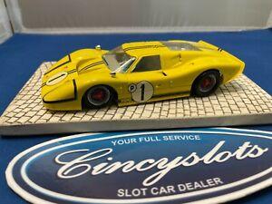 NSR Ford MK IV Yellow 1/32 Slot Car