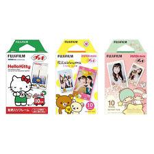 Hello Kitty, Rilakkuma, Twin Stars FujiFilm Instax Mini Film Polaroid 30 Photos