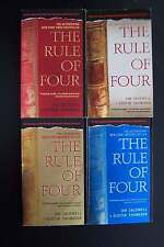 Rule of Four Books different covers lot