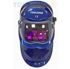 Blue Auto Darkening Welders Helmet Mask Welding Grinding Function MIG TIG ARC