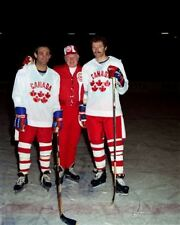 Don Cherry, Guy Lafleur,Larry Robinson Team Canada 8x10 Photo