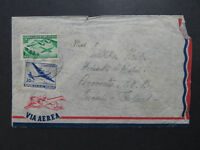 Uruguay 1952 Airmail Cover to Finland - Z8122