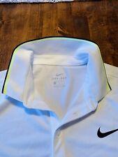 Nike Court Tennisshirt - 644776-102 - Dimitrov Sock Del Potro - L