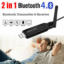 Hifi Sans Fil Bluetooth Audio Récepteur+Transmetteur 3.5mm Adaptateur TV MP3 PC
