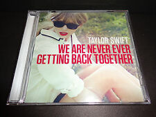 Taylor Swift USDJ PROMO CD We Are Never Ever Getting Back Together REMIX VERSION