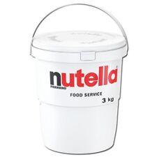 (8,59€/1kg) Ferrero Nutella 3 kg Eimer, Brotaufstrich, NussNugatCreme