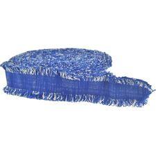 Boucle Gurtband blau natur 40 mm Taschengurt Taschenhenkel