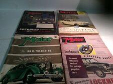 The Motor - Magazine - Lot Of 4 - 1938, 1954, 1957, 1962