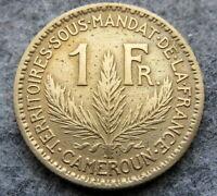 CAMEROUN FRENCH MANDATE TERRITORY 1926 FRANC