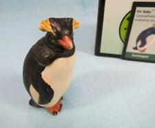 Harmony Kingdom Pot Bellys Rockhopper Penguin Figurine + Fact Card #Pbzpe6