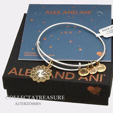 Authentic Alex and Ani Two Tone LEO RG/RS Expandable Bangle