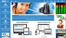 Style 3016 Ready Made Reseller Webhosting Website Free Billing System Included