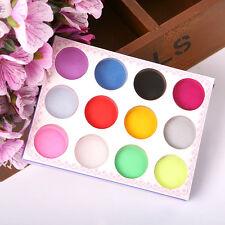Neu Nagel Kunst Acryl  Pulver Tips Acrylpuder Nail  Acryl Pulver Kit 12 Farben