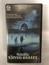 Silver Bullet Ex-Rental Vintage VHS Tape English  dutch subs Steven King
