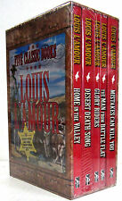 Five Western Classics Glory Riders +by Louis L'Amour (2015, Paperback Box Set)