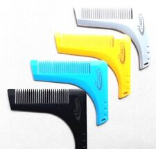 BEARD SHAPING TOOL template shaper stencil,symmetry,trimming,comb barber