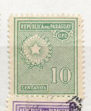 Paraguay 1927-42 Early Issue Fine Mint Hinged 10c. 282600