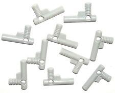 LEGO 10 GUNS Light Bluish Gray Minifigure Pistols/Weapons/Hose Nozzles