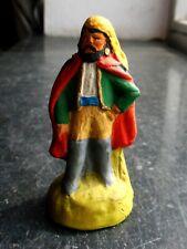 Santon en terre cuite peint Fouque - Bohémien 6 cm