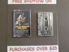 STEVIE RAY VAUGHAN LIVE ALIVE CASSETTE W/ LOVE STRUCK BABY
