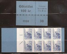 Sweden 531a Complete Booklet Mnh