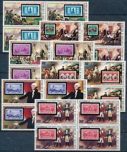 [PG20494] Upper Volta 1975 : 4x Good Set Very Fine MNH Stamps in Blocks