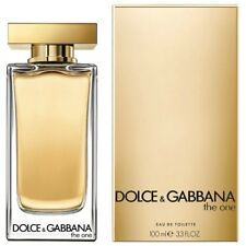 PARFUM POUR FEMME DOLCE & GABBANA D&G THE ONE 100 ML EDT 3,3 OZ TOILETTE
